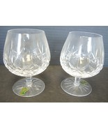 Two Waterford Brand Snifters - Lismore Pattern - Never Used - $75.99