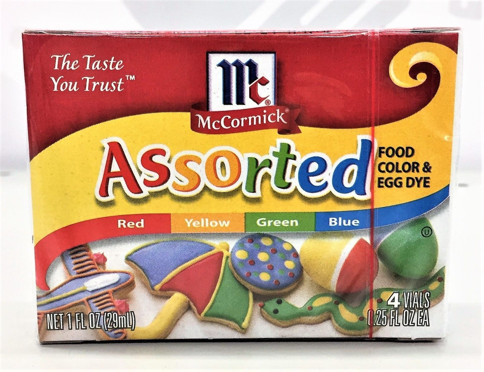 McCormick Assorted Food Coloring 4 pack Color and 50 similar items