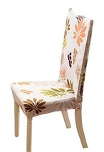 Soft Shorty Dining Room Chair Slipcover Polyester and Spandex - $13.58