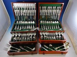 George & Martha by Westmorland Sterling Silver Flatware Set 48 Service 300 Pcs - $10,687.50