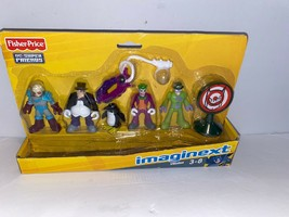 DC Super Friends Batman Imaginext Villains 3-Inch Mini Figure 5-Pack - $37.39