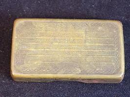 Vintage Gillette Copper SAFETY RAZOR BLADE Stor... - $22.34