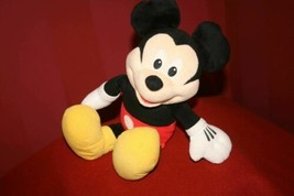 Disney Fisher Price 2010 Mickey Mouse Singin/Talking Clubhouse Plush Hotdog Song - $11.16