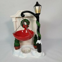 Yankee Candle Holiday Door with Wreath Lamp Post with Hanging Tart Warmer - $29.69