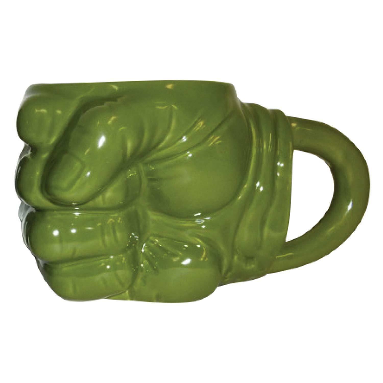 Marvel Hulk Fist Shaped Ceramic Coffe Face Mug
