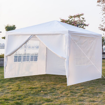 Wedding Outdoor Camping 10 Ft. W X 10 Ft. D Steel Canopy - $112.54