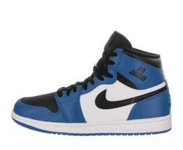 332550-400 Nike Air Jordan Men Air Jordan 1 I Retro High Soar Blue Black... - $69.99