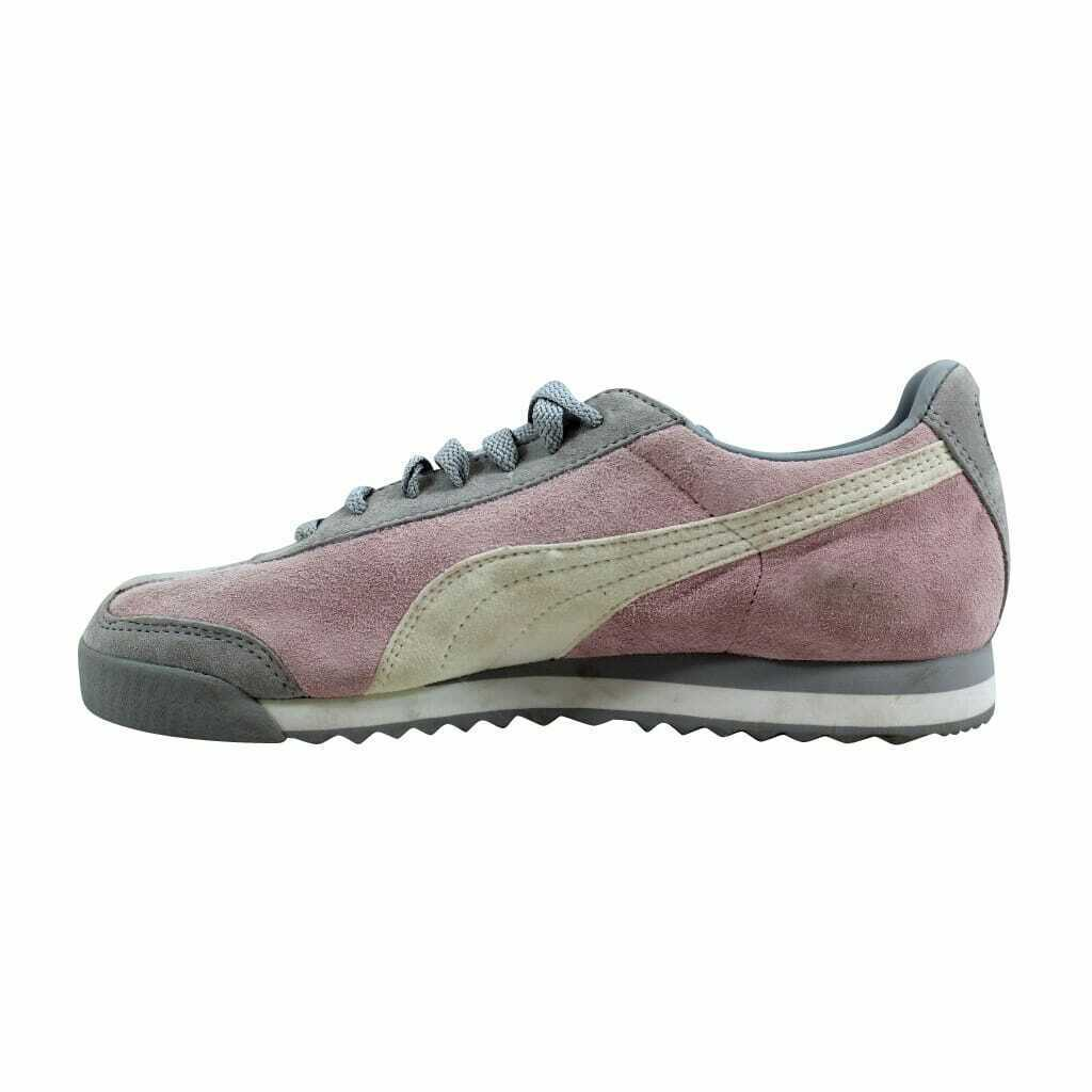 Puma Roma Pigskin EXT Cradle Pink/Vapor Blue-White 341959 17 Women's Size 9
