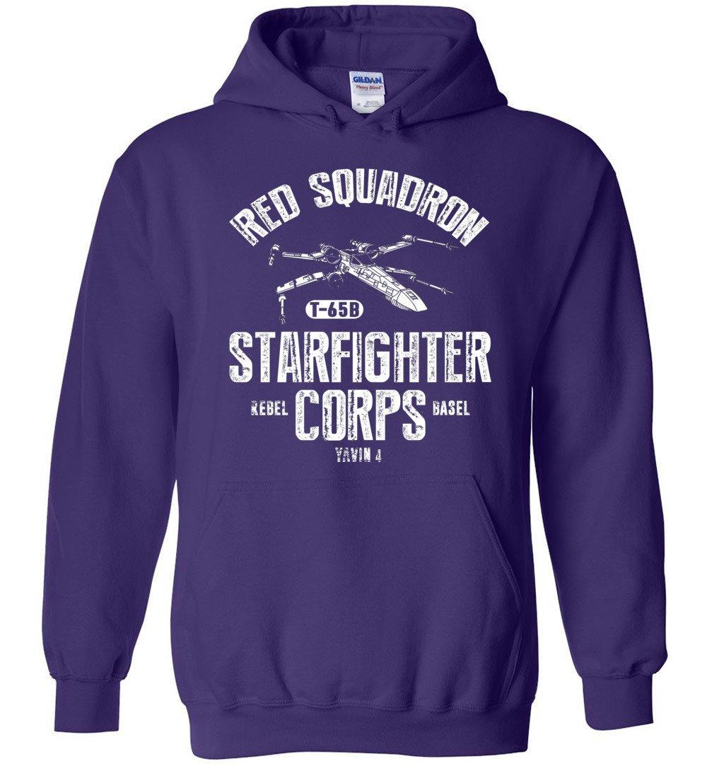 Star Wars Rebel X-Wing Starfighter Corps Collegiate Blend Hoodie