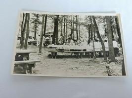 Vintage RPPC Kodak Postcard Allen State Park Pennsylvania Family PIcnic Unposted - $12.60