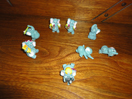 Ferrero Kinder Egg Surprise 8 Elephant at Beach Set 1990's - $88.88
