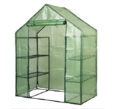 Garden Hot House Greenhouse Portable Green  Grow Tent Walk-In Protect Pl... - $93.95