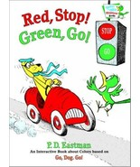 Red, Stop! Green, Go: An Interactive Book of Colors (Bright & Early Play... - $10.99
