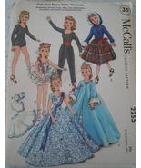 "McCall's 12"" High Heel Dolls Wardrobe  #2255  - $8.99"
