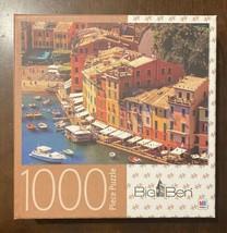Big Ben Jigsaw Puzzle 1000 Pieces - Portofino Italy - Excellent Condition - $12.77