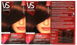 3 Ct Vidal Sassoon VS Ultra Vibrant London Luxe 4RC Carnaby Copper Red H... - $26.99