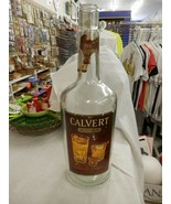 HUGE Antique Vintage Calvert Extra The Soft Whiskey Gallon Bottle Rare M... - $69.99