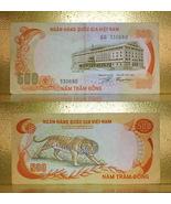 Vietnam 1972 RVN Money 500.00 Dong Banknotes - TIGER - $10.88