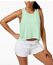 Calvin Klein Performance Epic Knit High-Low Tank Top, Size S, MSRP $28 - $15.98