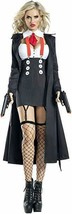 Party King Gangster Babe Mob Mafia Sexy Adulto Donna Halloween Costume P... - $57.64