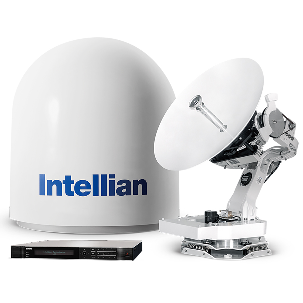 "Primary image for Intellian V65 Ku-Band w/65CM (23'6"") Reflector, X-pol and Co-pol, NJRC  8W Exten"