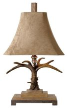 """Uttermost 27208 Stag Horn Table Lamp, 31.5"""" L x 18.5"""" W x 12.0"""" D, Natural Brown - $286.00"""