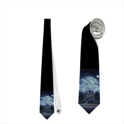 necktie fright night memorabilia neck tie