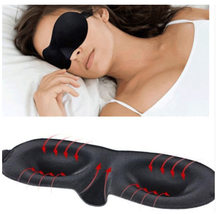 3D Portable Soft Travel Sleep Rest Aid Eye Mask Cover Eye Patch Sleeping... - $3.21