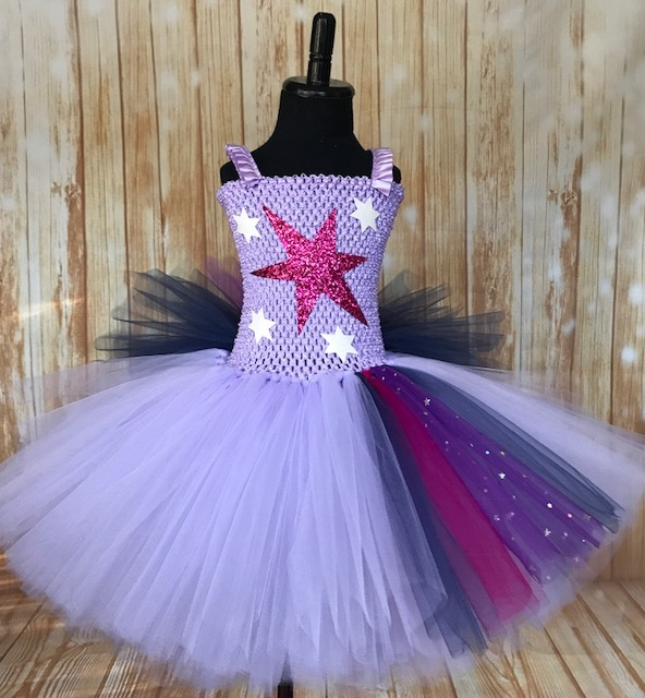 Primary image for Twilight Sparkle Tutu Dress, Twilight Sparkle Costume, Girls My Little Pony Tutu