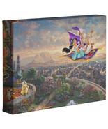 Thomas Kinkade Aladdin 8 x 10 Gallery Wrapped Canvas Disney - $39.94