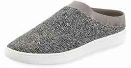 $195 VINCE. Slide Stretch Sneakers Ventura Fly Knit Mule Grey Marl ( 8 )  - $127.97