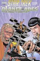 Star Trek Planet of the Apes Comic Book #5 R, Primate Directive IDW 2015... - $4.99
