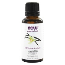 NOW Foods Vanilla in Jojoba Oil 100% Natural Vanilla, 1 Ounces - $25.45