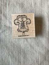 Dinosaur Face stampin' up RUBBER STAMP 2006 Interchangeable - $12.19