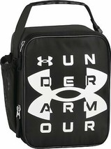 Under Armour Scrimmage, Black Insulated Lunch Box, 4 x 10 x 8.2 inch - $29.28