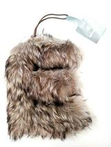 Aspen for Target Letter E Monogram Holiday Ornament Grey Faux Fur Initial - $2.99