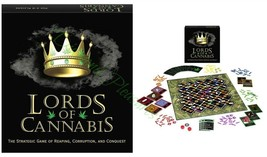 LORDS OF CANNABIS BOARD GAME - $29.69