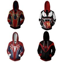 Custom Miles Morales Iron Spider Man Amazing Spiderman Costume Adult Hom... - $20.15+