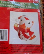 New Inflatable Character Christmas House Owl   16 X 17 - $6.40