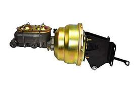 """A-Team Performance Dual Power Brake Booster Conversion Kit 8"""" Compatible with 19"""