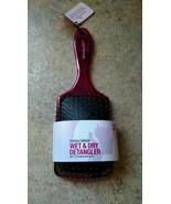 Brand New!! Wet and Dry Detangler 360 Beauty Cushion Brush Pink  - $9.45