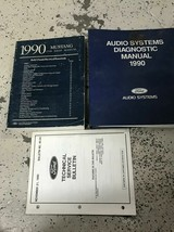 1990 Ford Mustang Gt Cobra Service Shop Repair Manual Set W Audio & TSB ... - $69.25