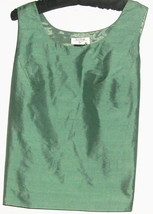 WOMEN'S GREEN SCOOP NECK TANK/CAMI SIZEM - $7.00