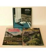 Lot of 3 Vintage Books Landscaping Patios Porches Decks Landscape Shrubs... - $11.99