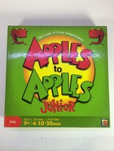 Apples to Apples Junior Game of Crazy Comparisons Ages 9 and Up 2006 MPN... - $12.95
