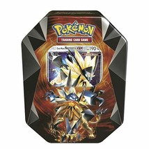 Dusk Mane Necrozma Tin Pokemon TCG 4 Booster Packs Sealed Prism Tin 2018 - $29.99