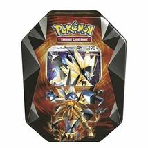 Dusk Mane Necrozma Tin Pokemon TCG 4 Booster Packs Sealed Prism Tin 2018 - $29.99