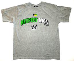MLB  Milwaukee Brewers Respect Mon Men's XL Jamaica Caribbean Vacation T-Shirt - $15.72