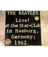LP Import Double Album The BEATLES Live at the Star-Club in Hamburg Germ... - $74.25