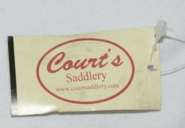 Courts Saddlery 1315901 Curb Chain Nylon Flat Chain Brown image 3